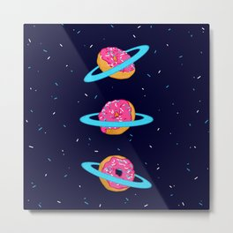 Sugar rings of Saturn Metal Print