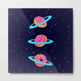 Sugar rings of Saturn Metal Print