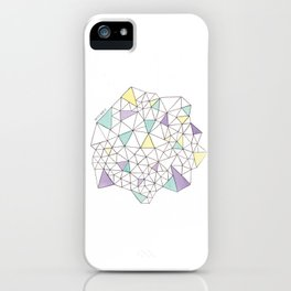 Triangles N2 iPhone Case