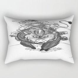 S1: Boar Hunters Rectangular Pillow