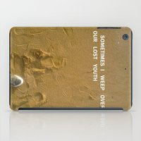 sand iPad Cases featuring sand by gasponce
