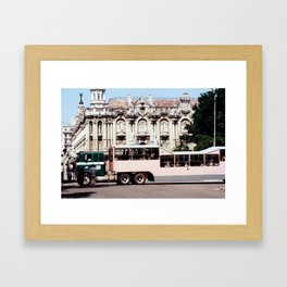 Teatro de la Havana Cuba Framed Art Print