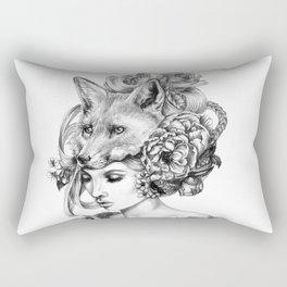 Forgotten Crabapples Rectangular Pillow