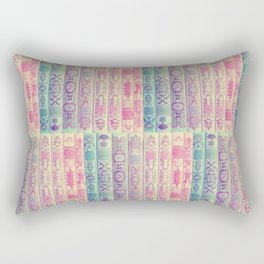 Pattern Books Rectangular Pillow