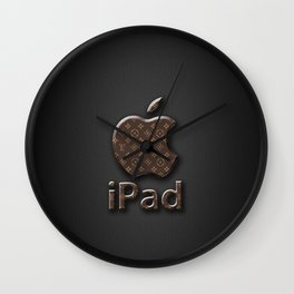 iphone logo Wall Clock