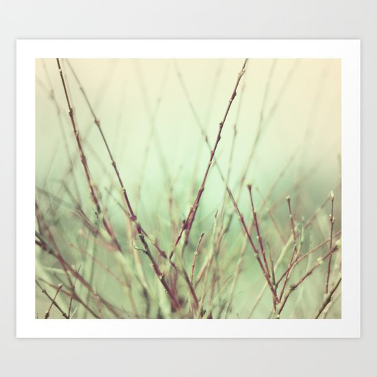 abstract nature°1 - vintage Art Print