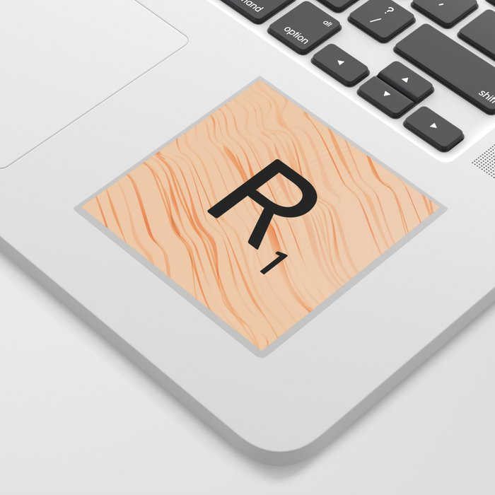 Scrabble Letter R - Large Scrabble Tiles Sticker