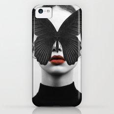 BLACK BUTTERFLY iPhone 5c Slim Case