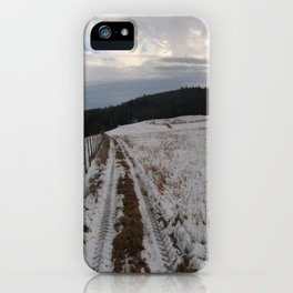 After a Snowy Day iPhone Case