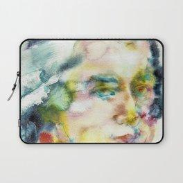 WOLFGANG AMADEUS MOZART - watercolor portrait Laptop Sleeve