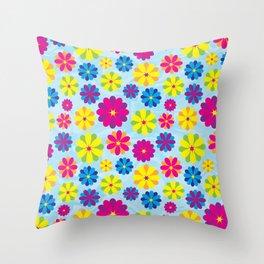 Flowers_101 Throw Pillow
