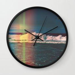 California Light Leak  Wall Clock