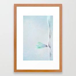 Verticality Framed Art Print