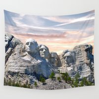 infamous Wall Tapestries featuring Presidential by Judith Lee Folde Photography & Art