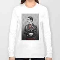 hannibal Long Sleeve T-shirts featuring Hannibal by Andrew Sebastian Kwan