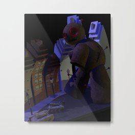 Attack of the 50 foot vodoo doll Metal Print