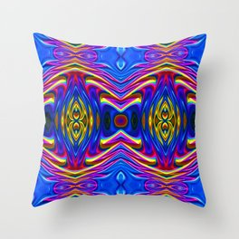 Mirrored 2 Throw Pillow