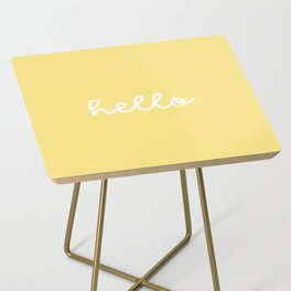 HELLO YELLOW Side Table