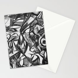 The Thinker 2 Stationery Cards