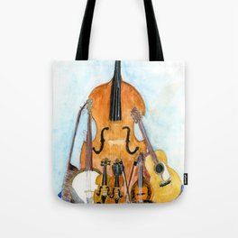 Old Time String Band Tote Bag