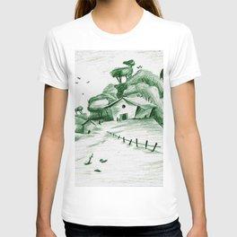 Little House on a Hill T-shirt