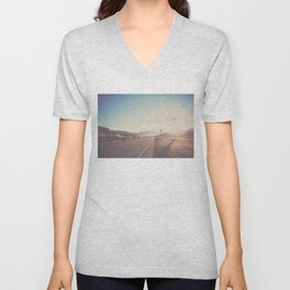 lets get lost together ...  Unisex V-Neck