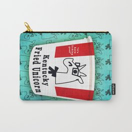 Kentucky Fried Unicorn Carry-All Pouch