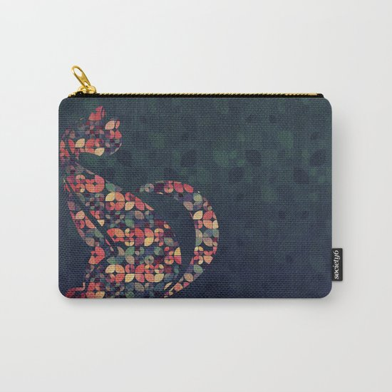 The Pattern Cat Carry-All Pouch