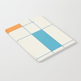 Mid-Century Modern Art 2.5 Notebook