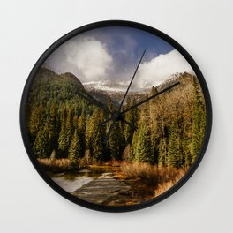 Chiwawa River Wall Clock