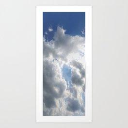 Sky Praise Art Print
