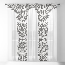 TOTEM Sheer Curtain