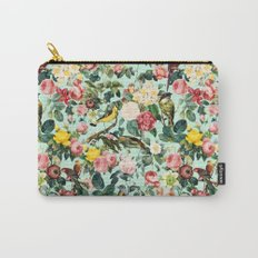 Floral and Birds III Carry-All Pouch