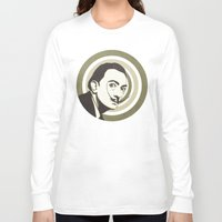 salvador dali Long Sleeve T-shirts featuring Salvador Dali by Kristjan Lyngmo