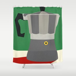 Espresso Italiano Shower Curtain
