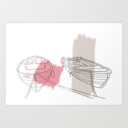 Raise Anchor And Cast Off For Adventure Art Print