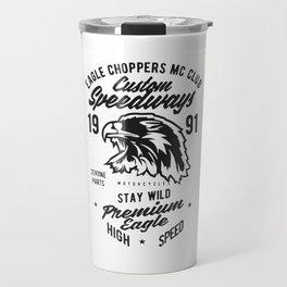 eagle choppers mc club Travel Mug