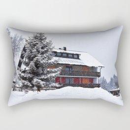 Fleckl, Germany at wintertime Rectangular Pillow