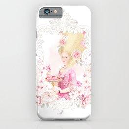 Marie Antoinette Paris in Spring iPhone Case