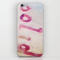 solid iPhone & iPod Skins featuring Solid by ThankYouWare