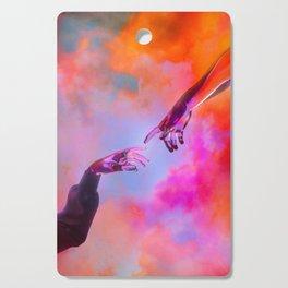 La Création d'Adam - Dorian Legret x AEFORIA Cutting Board