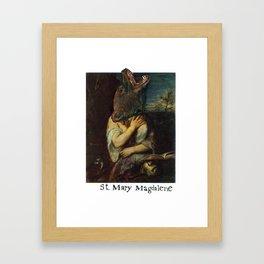 St. Mary Magdalene Framed Art Print