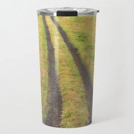 Red Barn Dirt Road Travel Mug