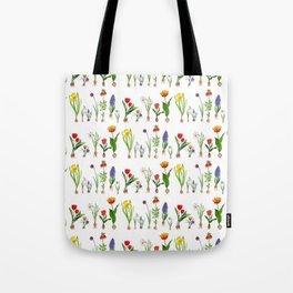 Spring Flowering Bulbs Tote Bag