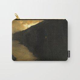Willem Witsen - Waterloo Bridge London - Dutch Fine Art Vintage Retro Oil Painting Carry-All Pouch