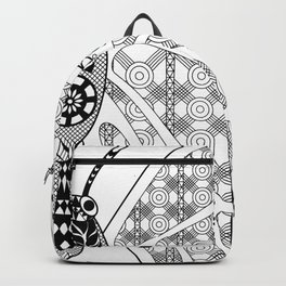 madame butterfly ecopop Backpack