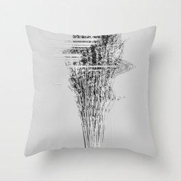 Dysphoria II Throw Pillow