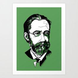 Czech composer Bedřich Smetana Art Print