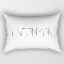 I'm... Uncommon Handwritten Rectangular Pillow