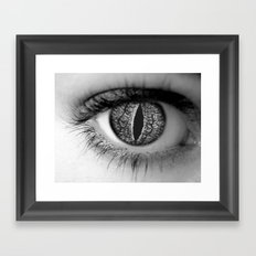 look deep Framed Art Print